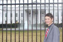 Emery Miller, 13, was invited to the White House to recognize his work raising funds, and awareness, for heart disease. The Chandler teen has undergone four open-heart surgeries for a congenital heart defect.