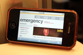 Arizona State University's text-alert program now includes social media as well as an alert system for incidents that don't rise to the level of emergencies.