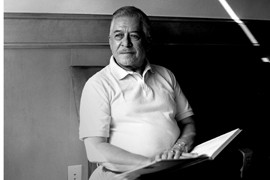 Gonzalo Barrientos was born in Bastrop, Texas, and felt firsthand at segregated schools for Mexican-Americans. Inspired by John F. Kennedy and Lyndon B. Johnson, he ran for office in 1974 and won. He retired from the state senate in 2004 but is politically active.