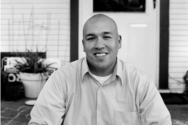 José Velásquez started Hermanos de East Austin, a nonprofit that helps Latinos engage in politics through voter registration drives and social events. He has been involved with politics since age 15, when his mother worked with retired state Sen. Gonzalo Barrientos and current Sen. Kirk Watson.