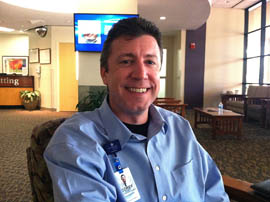 Corey Schubert, a public information specialist for Banner Health, is among the many Arizonans who have contracted Valley fever. His employer is warning Arizonans that large dust storms in the past two summers have raised the risk of people contracting the disease.