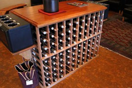 Page Springs Cellars, located in Cornville, sells an extensive collection of red and white wines all locally produced in Arizona.