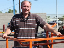 Doug Click, chairman of Vote Yes on 116, is president of Arizona Hi-Lift, which sells and rents machinery and equipment.
