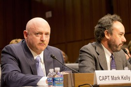 Mark Kelly said he and his wife, former Rep. Gabrielle Giffords, are