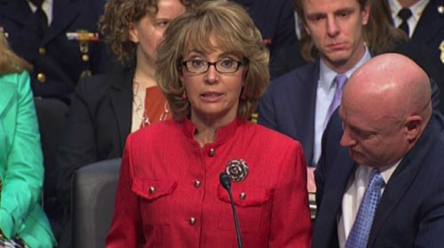 Former Rep. Gabrielle Giffords made an emotional return to Washington where she urged lawmaker to help prevent gun violence like the 2011 Tucson attack that wounded her. Reporter <b>Vaughn Hillyard</b> has the story.
