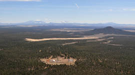 The dormant Canyon Mine in the Kaibab National Forest south of the Grand Canyon was dug in the 1980s to remove uranium.