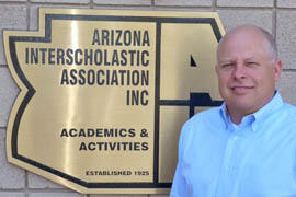 Chuck Schmidt, assistant executive director and chief operating officer of the Arizona Interscholastic Association, said that if a complaint comes in the organization will look into it. But anything more than that just isn't feasible, he said.
