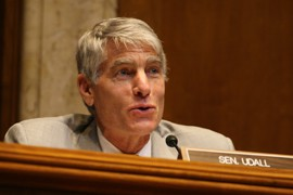 Sen. Mark Udall, D-Colo., presided over the Senate subcommittee hearing on the Bureau of Reclamation recommendations for preserving the Colorado River, an issue he said is important to him.