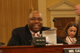 Arizona Department of Economic Security Director Clarence Carter said one goal in the
