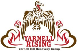 The Yarnell Hill Recovery Group adopted the turkey buzzard, the town's unofficial mascot, and reimagined it as a phoenix to symbolize the commuunity's determination to rise from the ashes of a deadly June wildfire. The volunteer group is assisting with that recovery.