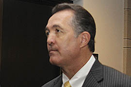 Rep. Trent Franks, R-Glendale, asked Pentagon witnesses the House Armed Services Committee hearing point-blank for their