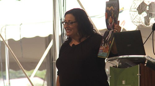 Arizona children's book author Monica Brown, who features Latino characters and themes in her books, was showcased at the National Book Festival over the weekend. Cronkite News' <b>Sydney Hujik</b> reports.