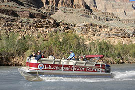 While other parts of the Colorado River are off-limits because the government shutdown closed Grand Canyon National Park, those parts controlled by tribes are still open to visitors.