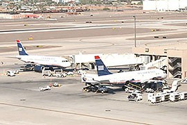 Airline mergers can pose particular challenges for smooth operations, the report's authors said. Phoenix's biggest carriers recently went through mergers, with AirTran merging into Southwest and US Airways merging into American Airlines.