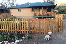 Uninsured homeowners who lost their homes to the Yarnell fire had replacements built at no cost, with labor, material and fees paid for by donations to the Yarnell Hill Recovery Group and Yavapai County United Way.