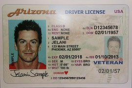 Arizona driver's licenses do not comply with the federal Real ID Act, which requires tamper-proof measures,  specific data and sharing of that data between states - a security concern that led the state to refuse to comply.