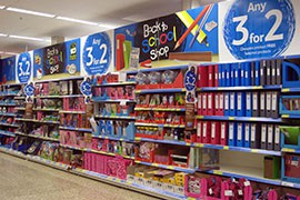 American families will spend just over $100 each on school supplies alone in their back-to-school shopping this year, a 12 percent increase from last year, according to a recent report from the National Retail Federation.