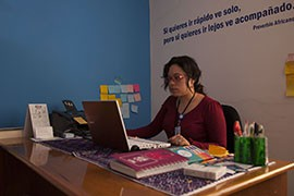 Geicel Yamileth Benitez Fuentes at the Marie Stopes Clinic, one of several non-governmental organizations working to improve a maternal rate of deaths during childbirth in the Chiapas state that is among the highest in Mexico.