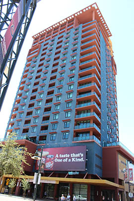 The Arizona Supreme Court ruled recently that a lien placed by a construction firm doesn't automatically have priority over other liens recorded after work begins on a development. The case stemmed from the financially Summit at Copper Square in downtown Phoenix.