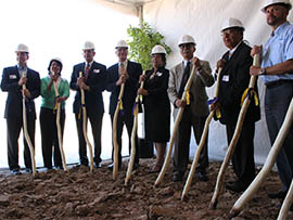 Representatives of the Tohono O'odham Nation, Glendale and other organizations broke ground in August on the tribe's planned $400 million casino resort in the West Valley.