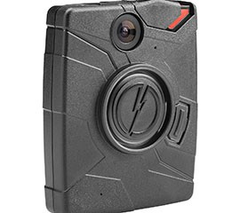 Police body cameras also include versions that officers can wear on their chests.