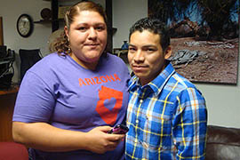 Luis Lopez-Acabal, shown with his wife, Mayra Canales, is seeking asylum to remain in the U.S. rather than return to Guatemala.