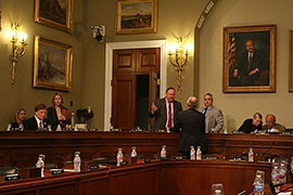 The House Natural Resources Committee oversight   hearing Wednesday focused on what members called the Fish and Wildlife Service's lack of responsiveness to committee inquiriies.