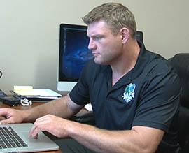 Scott Peters, a former Arizona State University and Arizona Cardinals lineman, founded SafeFootball.