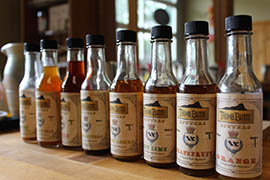 Thumb Butte Distillery recently debuted a line of flavored bitters that complement mixed drinks.