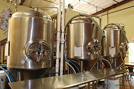 Thumb Butte Distillery creates small batches of spirits alongside its tasting room.