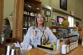 Thanks to a new Arizona law, Dana Murdock can now sell spirits directly to customers in the tasting room of Thumb Butte Thumb Butte Distillery in Prescott.