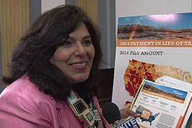 Coconino County Supervisor Liz Archuleta said her county relied on the $1.7 million in PILT funding it got this year from the federal government to fund fire management and other essential services.