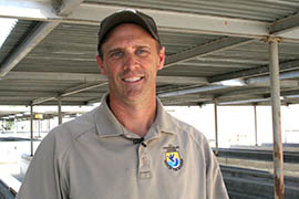 Mark Olsen, the hatchery's project manager, said he and others understand that the loss of stocked rainbow trout in Lake Mohave has been a hit to the Mohave County economy.