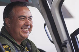 Sgt. Jim Grisham, supervisor for the Pima County Sheriff's Department Air Unit, said pilots experience headaches, dizziness and temporary blindness when targeted by a laser. He said those problems can be exacerbated when a pilot is wearing night-vision googles.