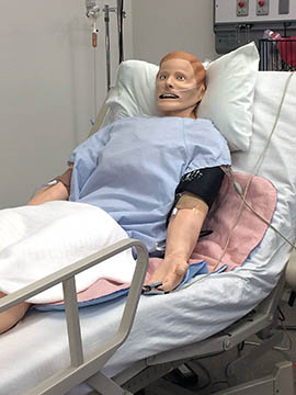 One of the simulation models in the recently expanded Center for Simulation and Innovation at the University of Arizona College of Medicine – Phoenix.