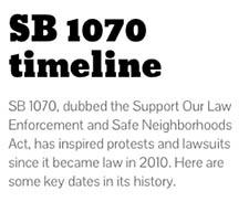 SB 1070 timeline