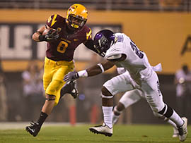 Arizona State running back D.J. Foster is looking to return to form after a disappointing performance in the Sun Devils' loss to UCLA.
