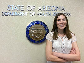 Jessica Rigler, chief of the Bureau of Epidemiology and Disease Control at the Arizona Department of Health Services, said state health officials have been sending emails alerting local agencies to facts about Ebola, guidelines for identifying those at risk and what protective equipment is needed to treat someone who's infected.
