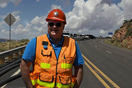 Steve Monroe, ADOT's senior residential engineer, said the plan is to have the direct route to Page reopened by May, prime time for tourists visiting that city.