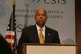 Homeland Security Secretary Jeh Johnson touted the successes of his department, telling a Washington audience that