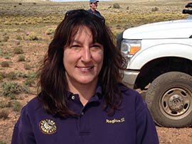 Jennifer Cordova, an Arizona Game and Fish Department wildlife specialist, said black-footed ferrets still face threats including disease.