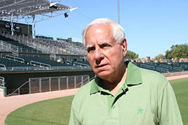 Team owner Lew Wolff said the Oakland Athletics' new facilities in Mesa will build on their successes.