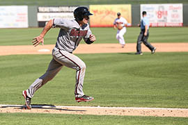 Peter O'Brien, a catcher in the Arizona Diamondbacks minor league system, is off to a fast start in the Arizona Fall League. O'Brien joined the franchise in the trade that sent third baseman Martin Prado to the New York Yankees.