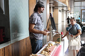 Matt Cottle, a Scottsdale resident with autism, runs a pastry-making business that catered a recent job fair for the disabled.