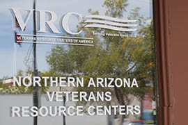 Advocates in Prescott discuss homelessness among veterans there and other rural areas of Arizona.