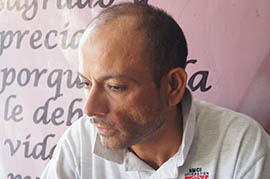 Deported after 25 years in the United States, Jose Castellea said after leaving the Kino Border Initiative he plans to go back Guadalajara and begin his life in Mexico.