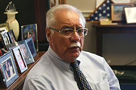 Rep. Ed Pastor, D-Phoenix, has packed up nearly most of his Capitol Hill office as he prepares to retire. He said he hopes his legacy in Congress will be his ability to help people.