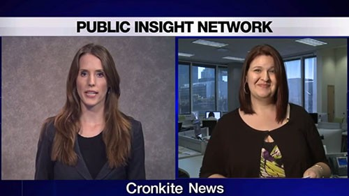 Cronkite News teamed up with the PIN Bureau to ask voters what matters to them in this coming midterm election. PIN's <b>Rachel Lund</b> joined Cronkite News live to discuss some responses from voters.