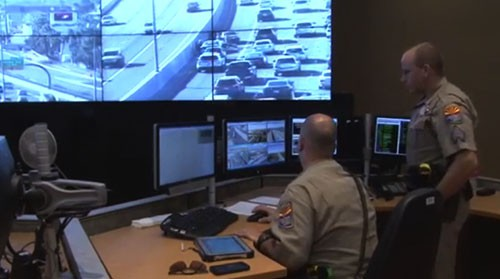 Police, ADOT team up to improve highway monitoring, speed ...