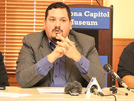 Francisco Heredia, executive director of the voter-registration group One Arizona, discusses a report suggesting that Latino voting power in Arizona continues to grow.